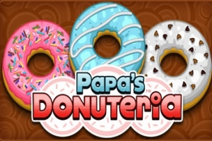 Papa's Donuteria Cool Math Games