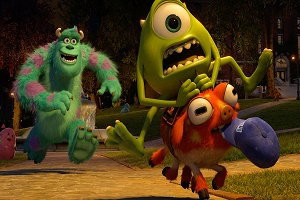 Monster University Monstrous Summer